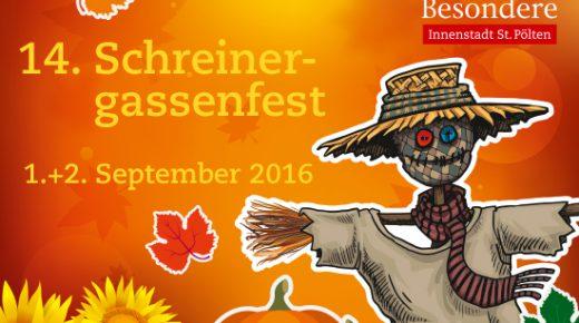 1. & 2. 9. 2016: Schreinergassenfest