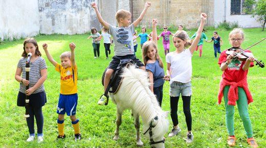 Kinderspielstadt im Dom Areal