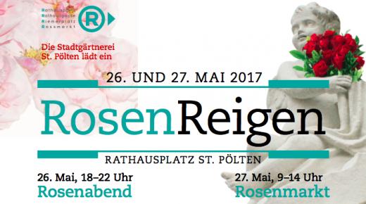 RosenReigen am Rathausplatz St. Pölten