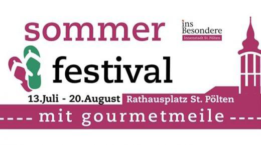 Sommerfestival 2017 am Rathausplatz St. Pölten