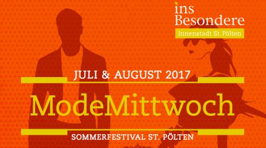 Modemittwoch beim Sommerfestival St. Pölten