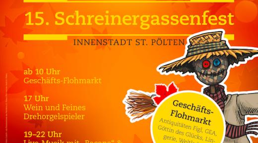 """15. Schreinergassenfest in der """"feinen Gasse"""""""