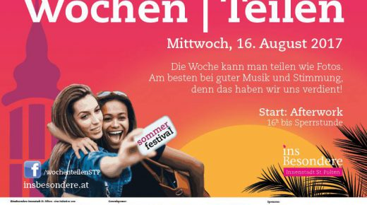 Wochenteilen im August *Summeredition*