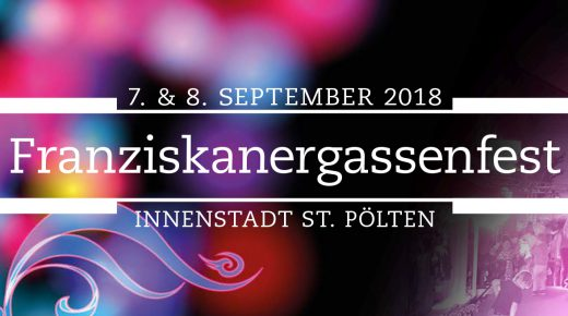 Franziskanergassenfest am 7. & 8. September